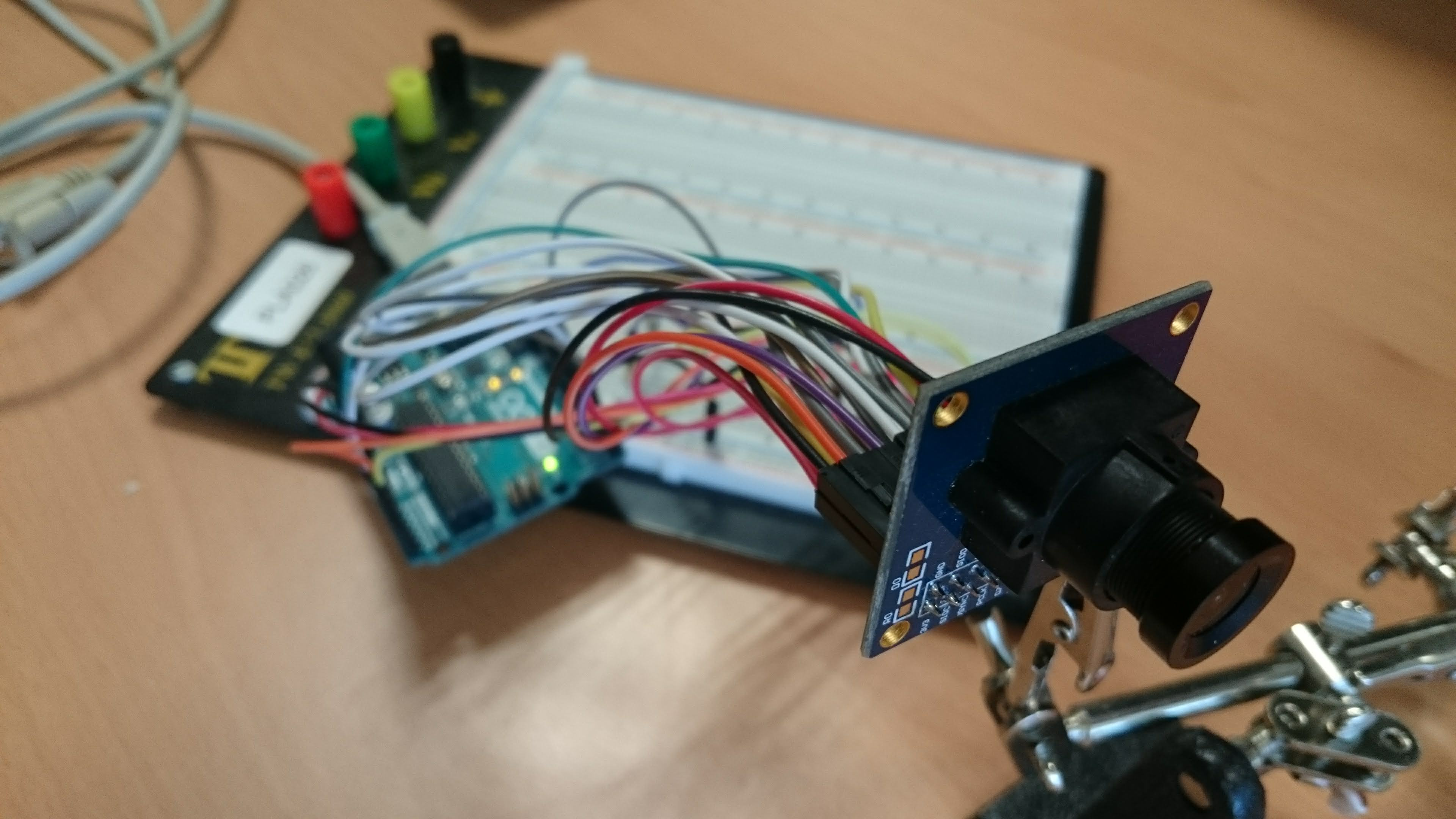 OV7670 camera and arduino · Lulu's blog