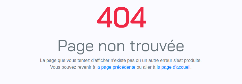 How to create a custom 404 error page with CodeIgniter? · Lulu's blog