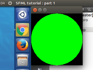 SFML - Part 1 - Installation and first program with Qt Creator